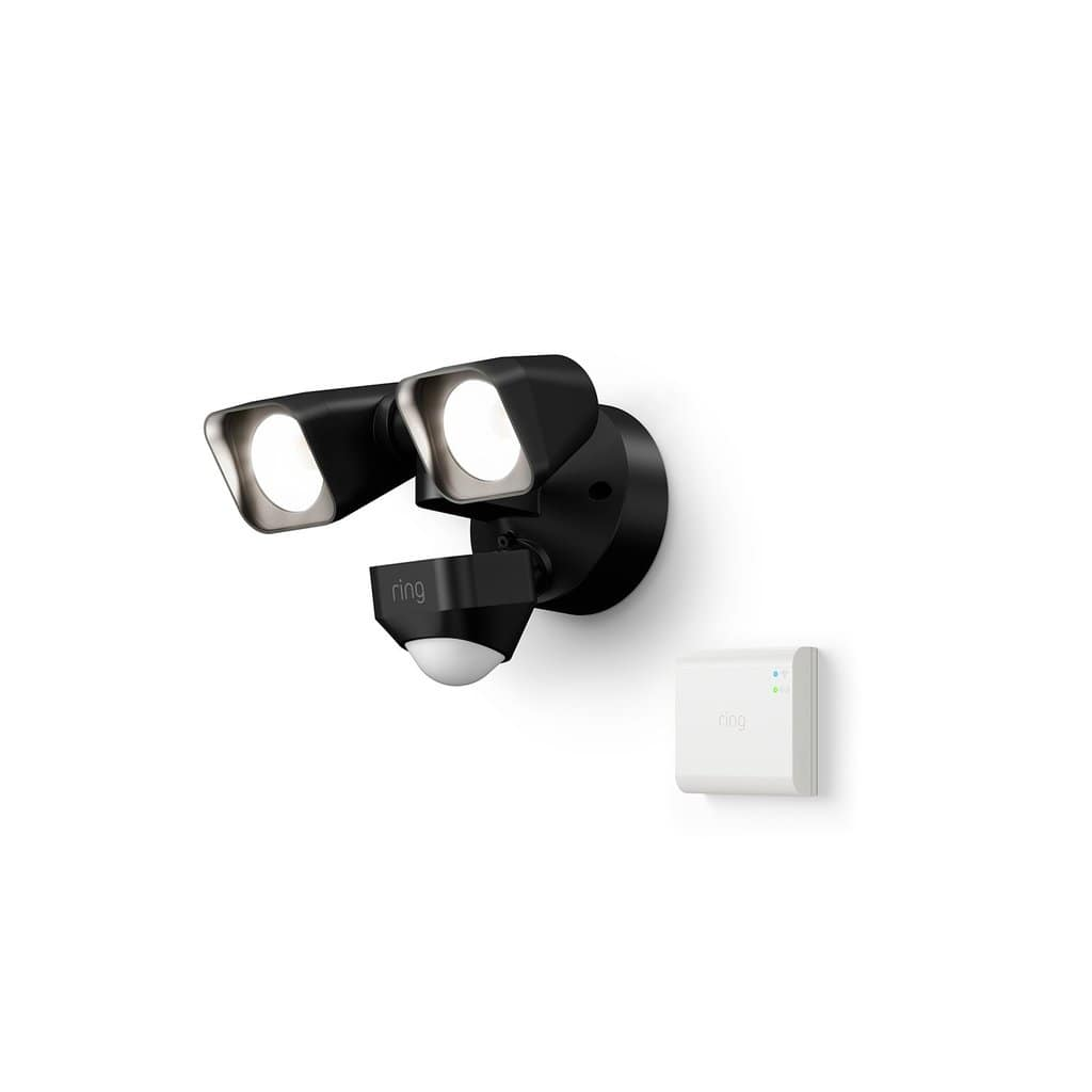 Smart Lighting Floodlight Wired + Bridge at Ring.com for $72.90 or $56.70 for Battery version (Preorder) for Protect Subscribers