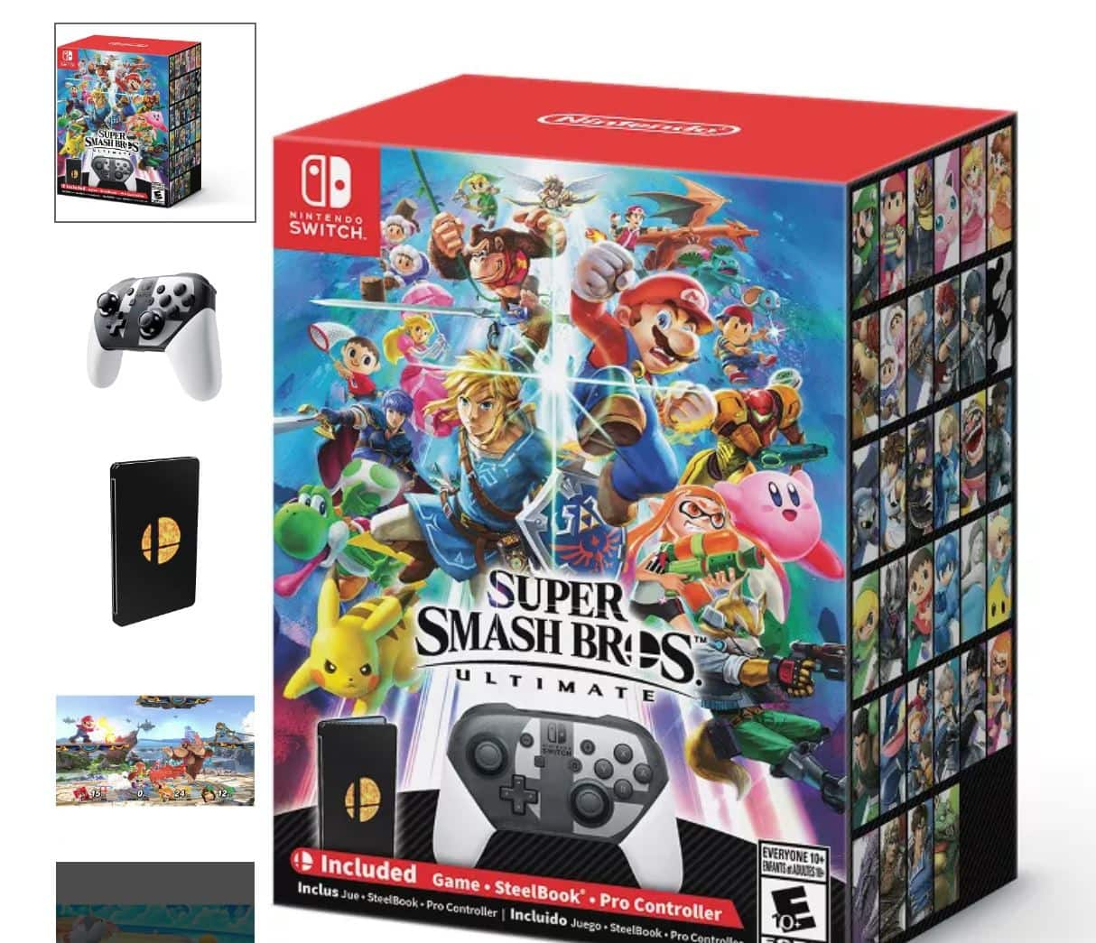 Super Smash Bros. Ultimate Special Edition for Nintendo Switch back in stock at Target $139.99