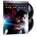 $7.69 - Man of Steel (Special Edition) DVD, Digital HD Combo Pack