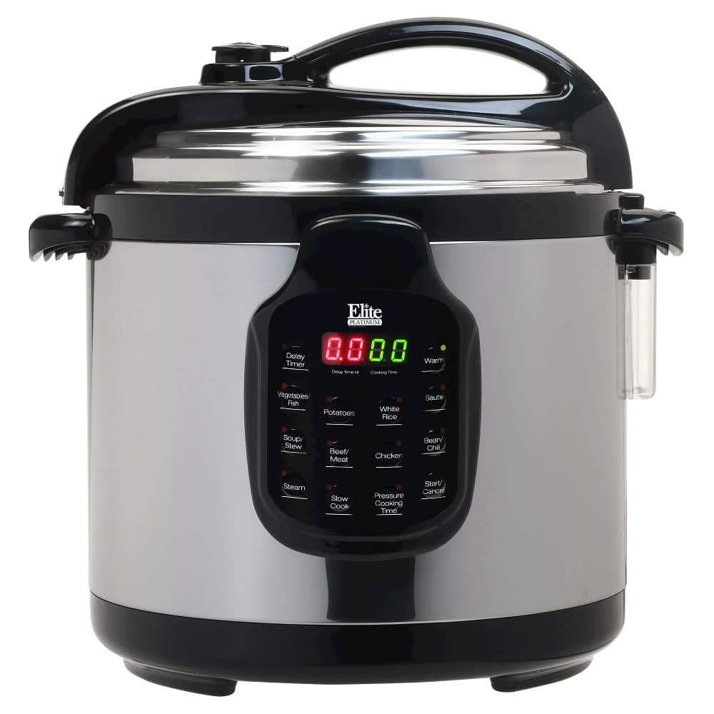 Target: Elite Platinum Stainless Steel 6-Quart Electric Pressure Cooker for $18 + free shipping