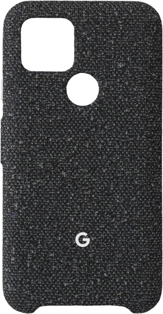 Google - Pixel 5 Fabric Case Basically Black Model: GA02059 $28 $27.99