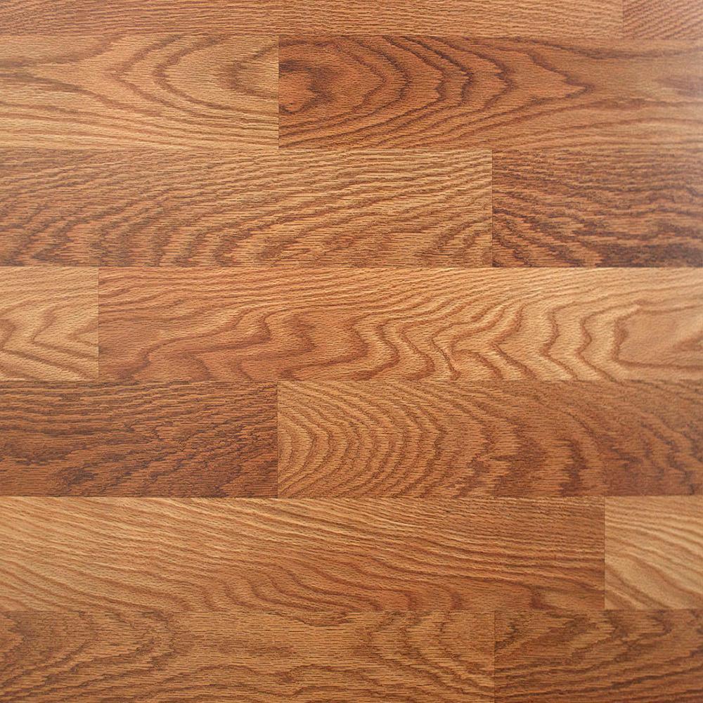TrafficMASTER Lansbury Oak 7mm Laminate Flooring $0.49/Sqft YMMV B&M