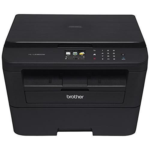 Brother HL-L2380DW Wireless Monochrome Laser Printer, $92