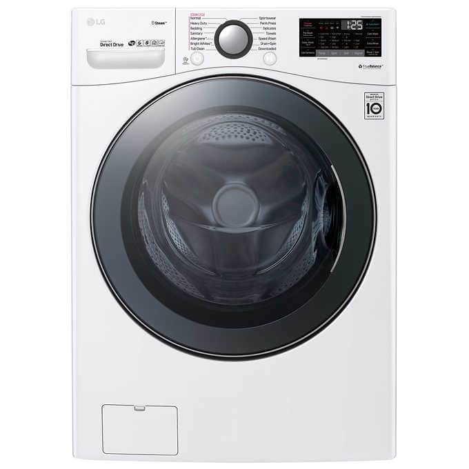 LG SmartThinQ TurboWash 360 WM3900 4.5 cu. ft. Front Load Washing Machine Price Drop 1/1 now $829 at Costco with 2 year warranty, delivery, install, haul away