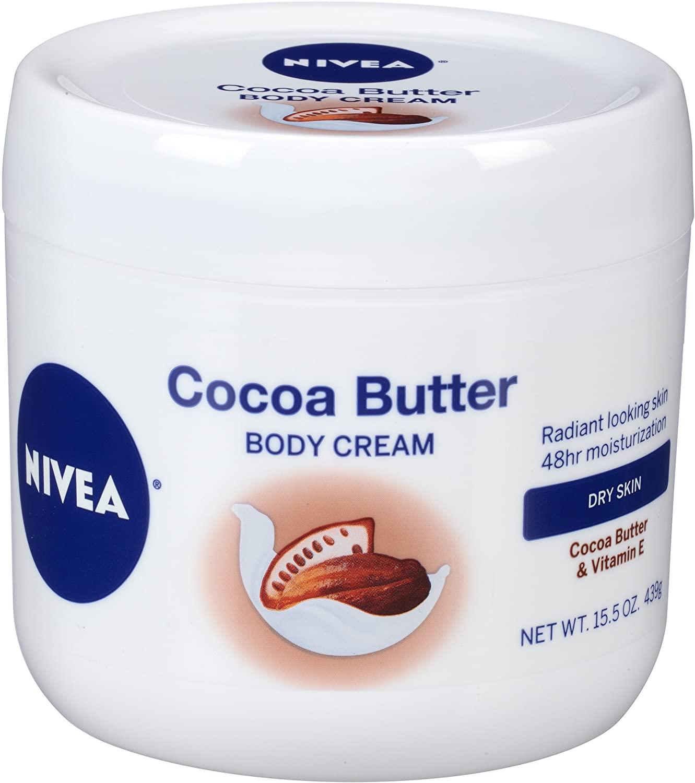15.5-Oz NIVEA Cocoa Butter Body Cream $3.85 w/ S&S + Free Shipping w/ Prime or on $25+