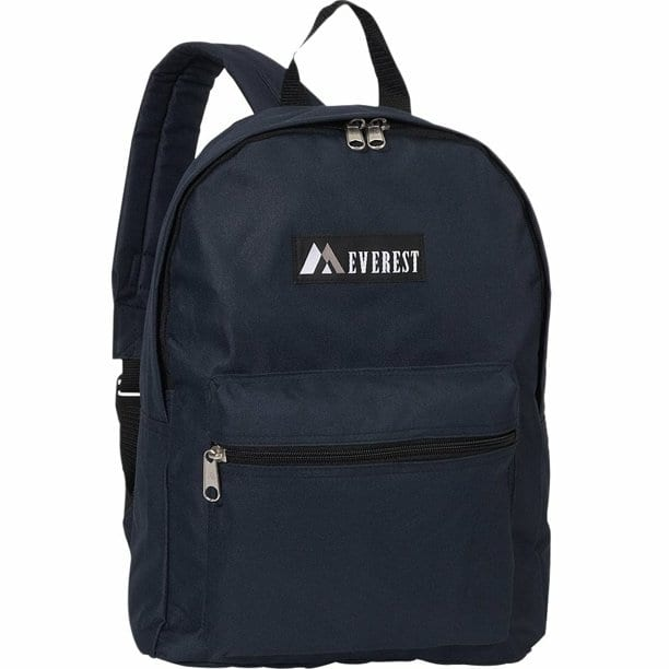 Everest Basic Backpack (Various Colors) $7 + Free Shipping w/ Walmart+ or on $35+ or w/ Prime or on $25+