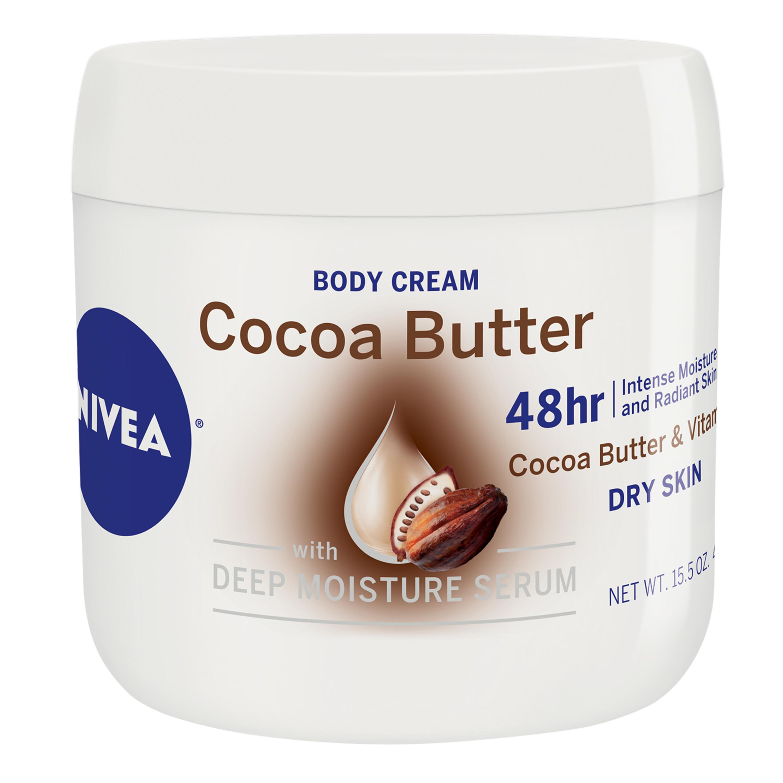 15.5-Oz NIVEA Cocoa Butter Body Cream $3.55 w/ S&S + Free Shipping w/ Prime or on $25+