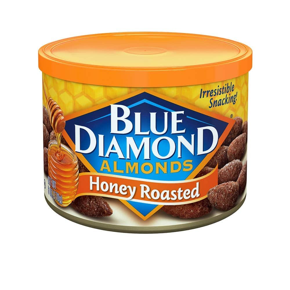 12-Count 6-Oz Blue Diamond Almonds Honey Roasted Snack Nuts $18.29 ($1.52 each) w/ S&S + Free Shipping w/ Prime or on $25+