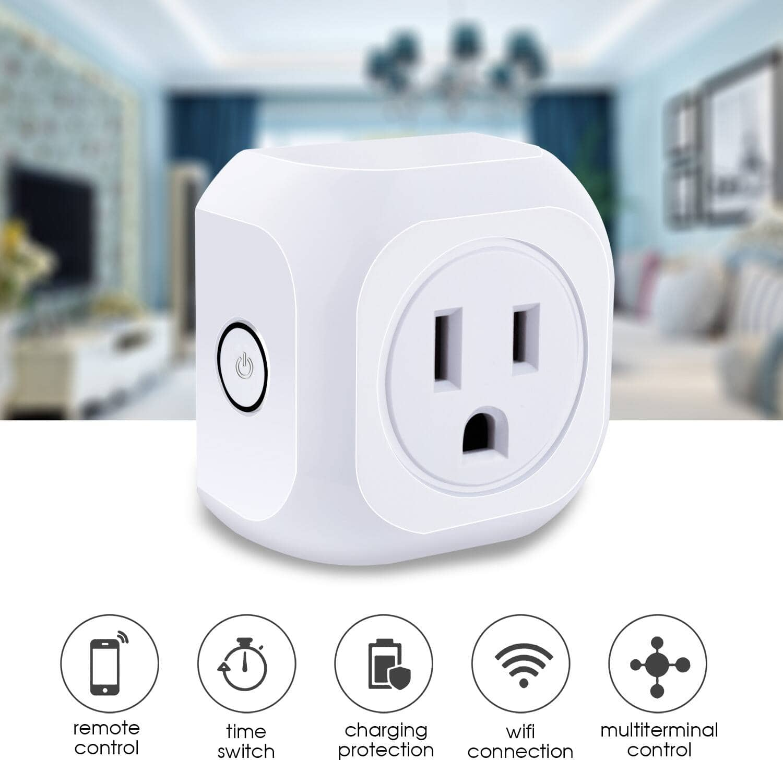 2-Pack Kootion Mini WiFi Smart Plug $12.88 + Free Shipping