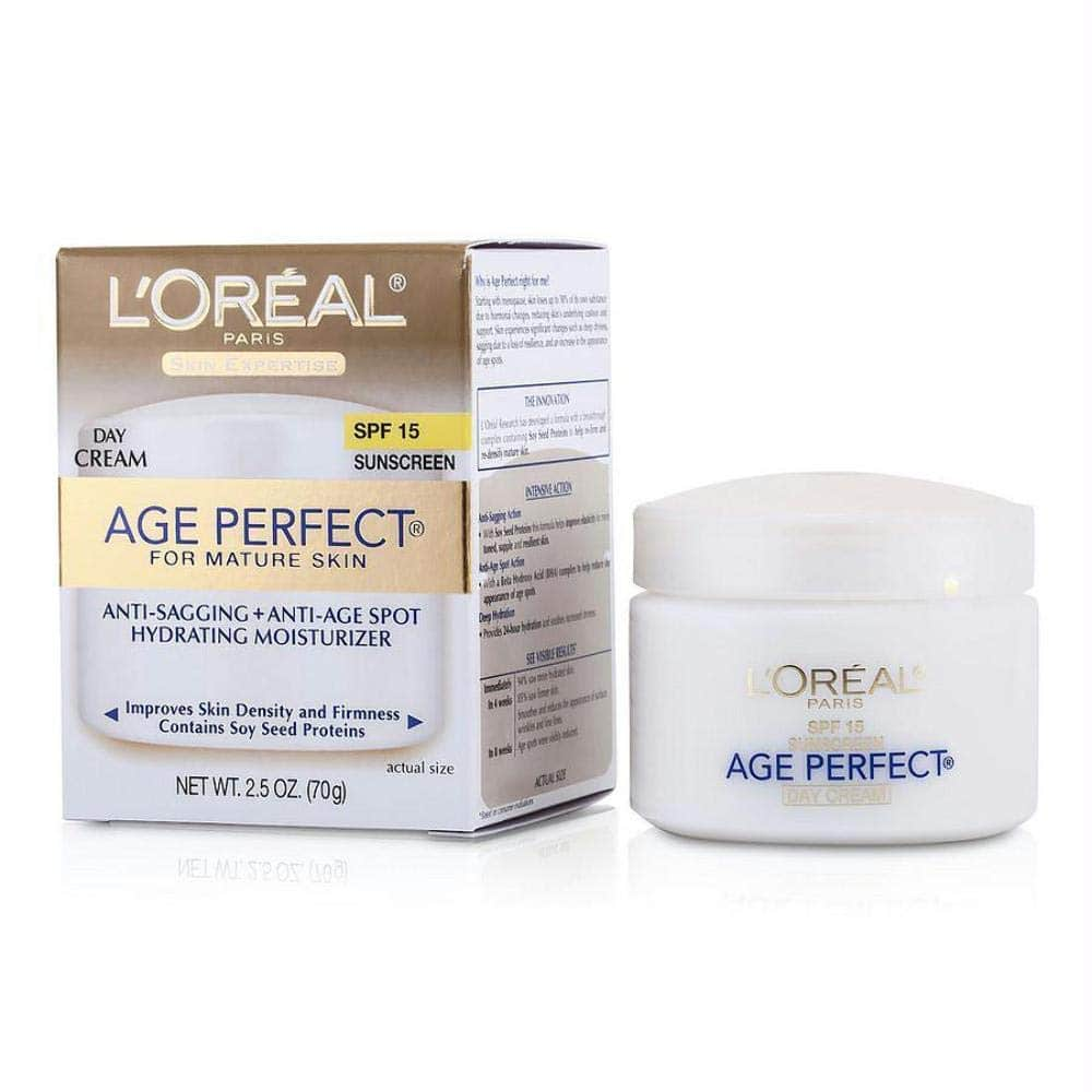 2.5-Oz L'Oreal Paris Skincare Age Perfect Anti-Aging Day Cream 2 for $11.89 w/ S&S and More + Free Shipping w/ Prime or on $25+