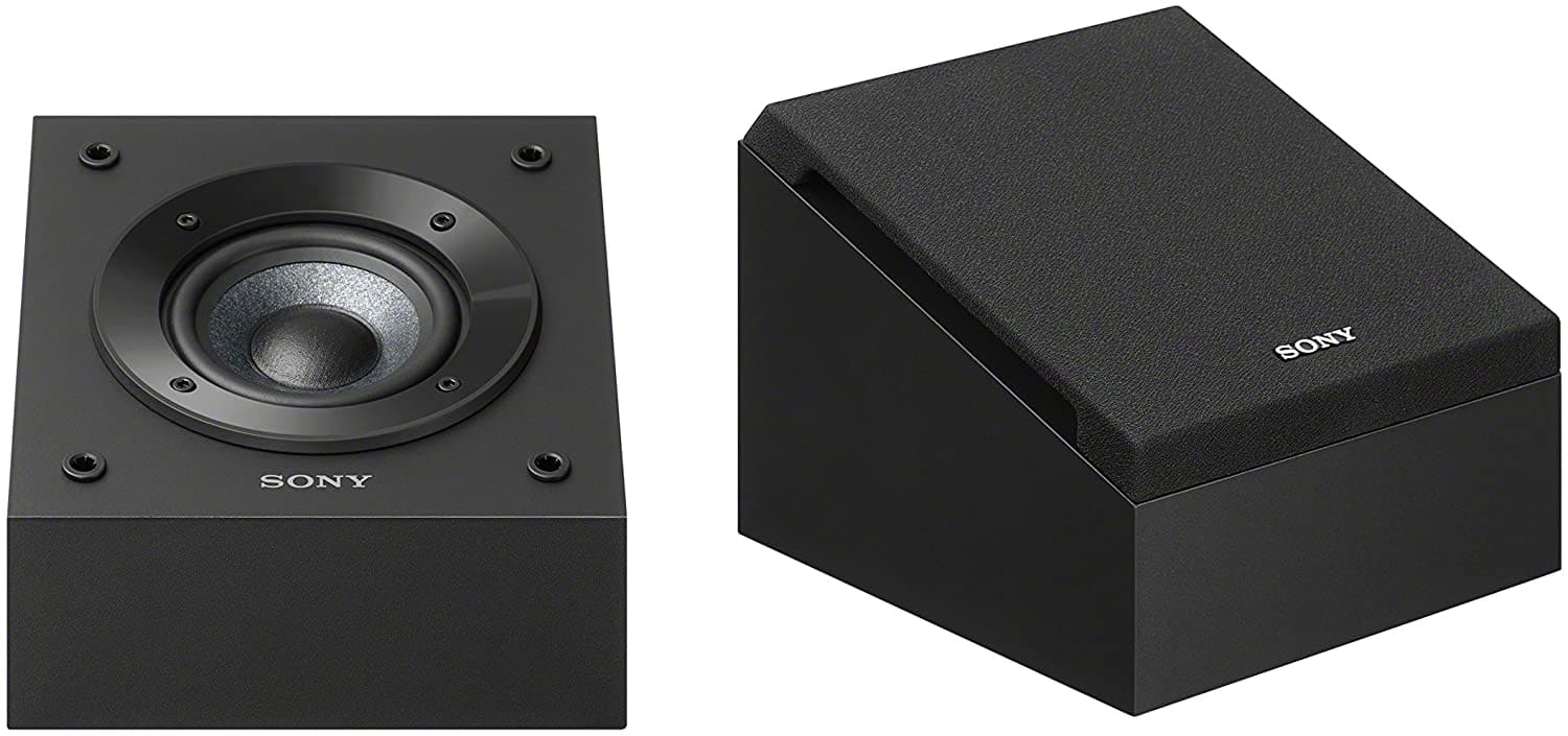 """Sony SSCSE 4"""" Dolby Atmos Enabled Speakers (Pair, Black) $98 + Free Shipping"""