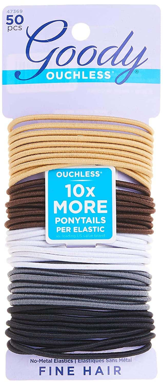 50-Count Goody Ouchless Women's Elastic Hair Ties (Neutral) $2.85 w/ S&S + Free Shipping w/ Prime or on $25+