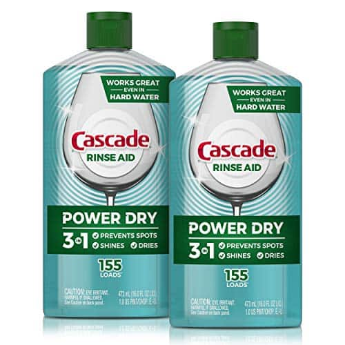 2-Pack 16-Oz Cascade Power Dry Dishwasher Rinse Aid $7.50 w/ S&S + Free Shipping w/ Prime or on $25+