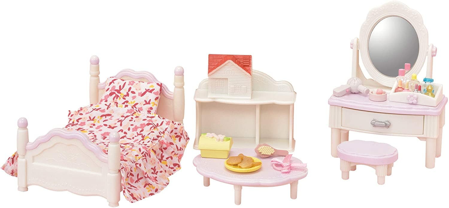 Calico Critters Family: Bedroom & Vanity Set $9, Yellow Labrador Family $12, More + Free Shipping w/ Prime or $25+