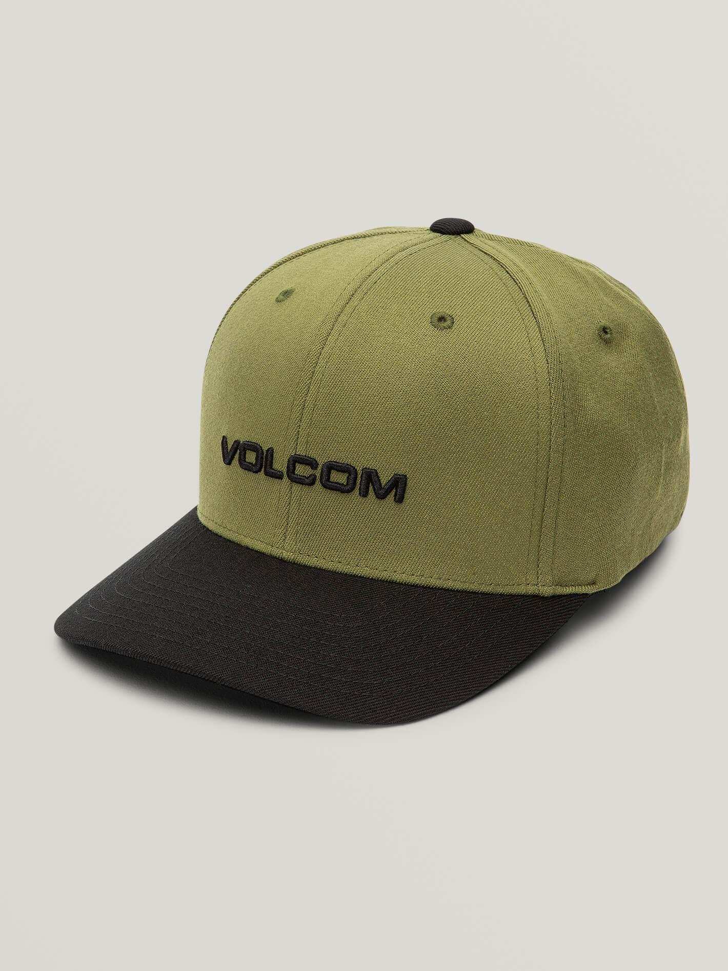 Men's Volcom Hats: Quarter Twill Hat (Brindle) $6.50, Center Stone Hat (Black) $7.50, More + Free Shipping
