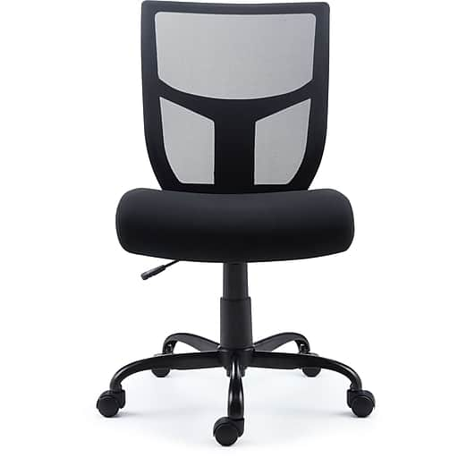 Staples Mesh Back Fabric Task Chair $44.79 + Free Shipping