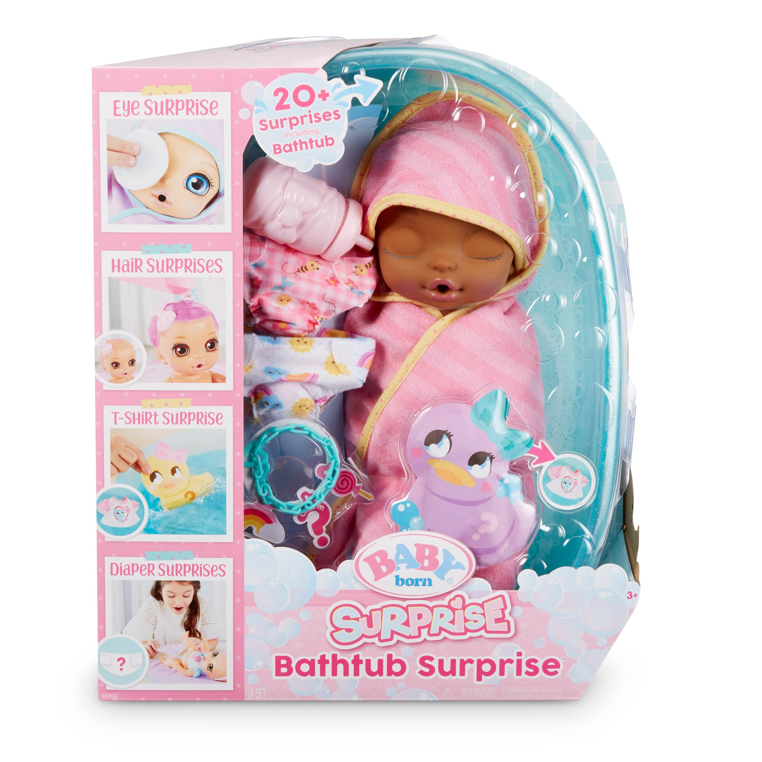 Baby Born Surprise Bathtub w/ 20+ surprises (various colors) $20 + Free Store Pickup at Walmart or F/S on $35+ or w/ Prime or on $25+