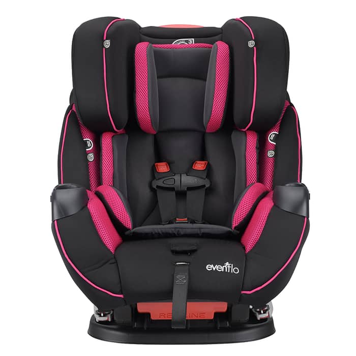 Evenflo Symphony Elite All-in-One Car Seat (Raspberry Sorbet) $106.75 + Free Shipping