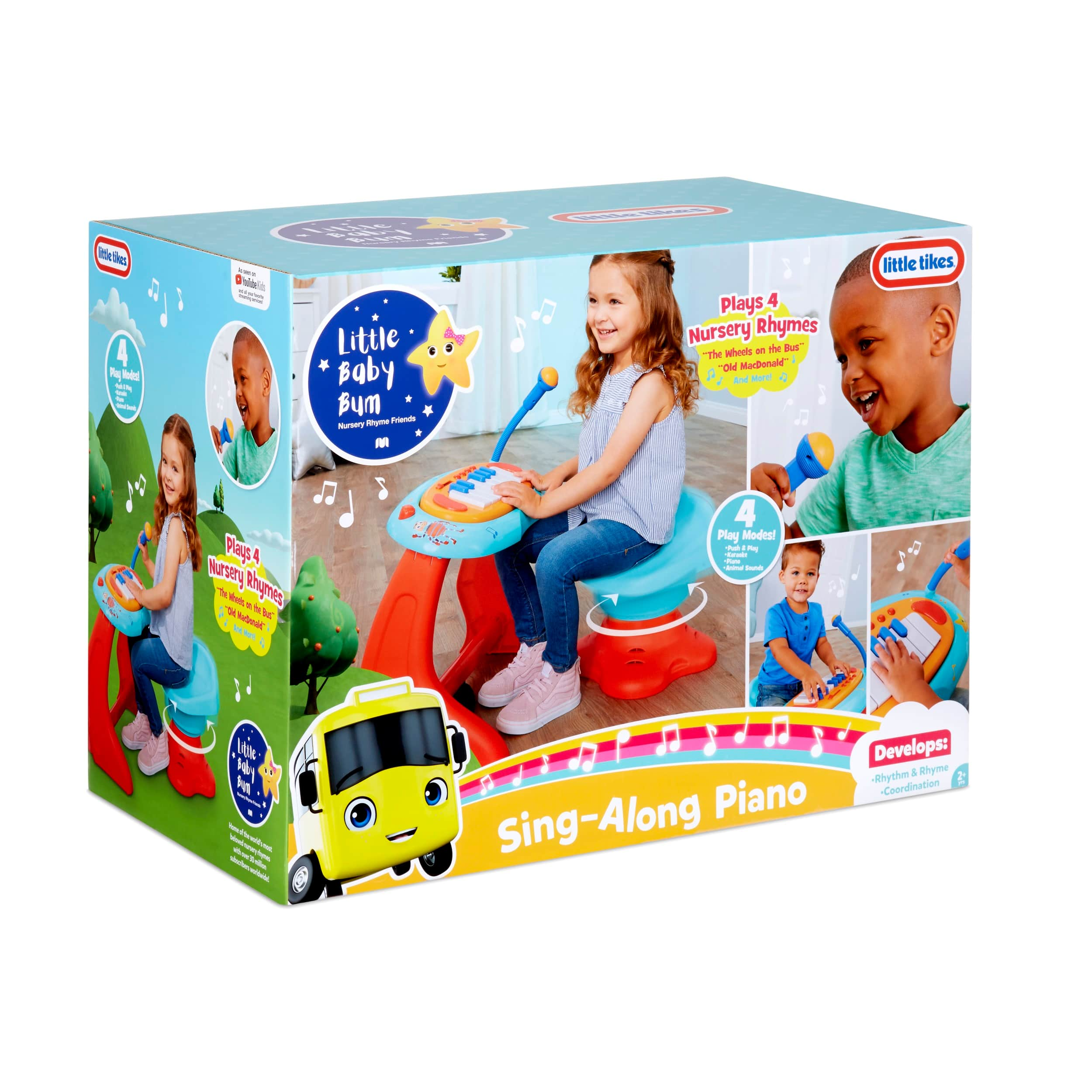 Little Tikes Little Baby Bum Sing-Along Piano $29.95 + Free Store Pickup at Walmart or Free Shipping on $35+