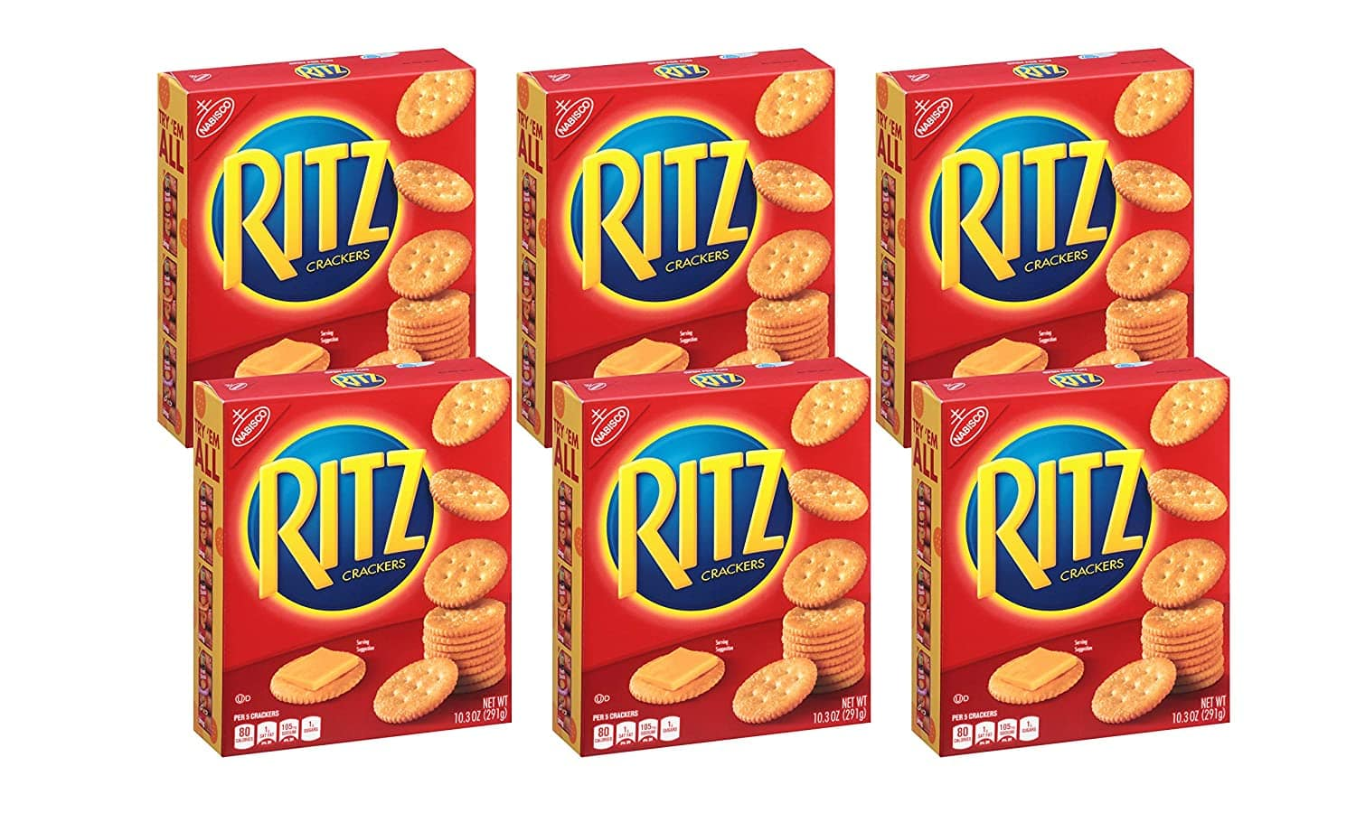 6-Pack of 10.3-Oz Ritz Original Crackers $5.40 w/ Subscribe & Save