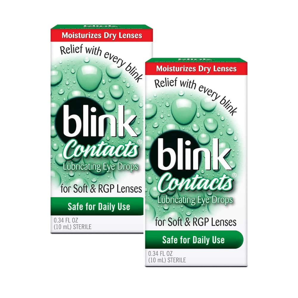 2-Count of 0.34-Oz Blink Contacts Lubricating Eye Drops $7.52 + Free Shipping w/ Prime or on $25+