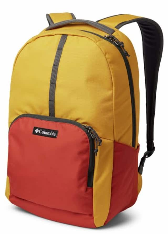 25L Columbia Mazama Backpack (Bright Gold/Carnelian Red) $15.45 + Free Shipping w/ Prime or on $25+