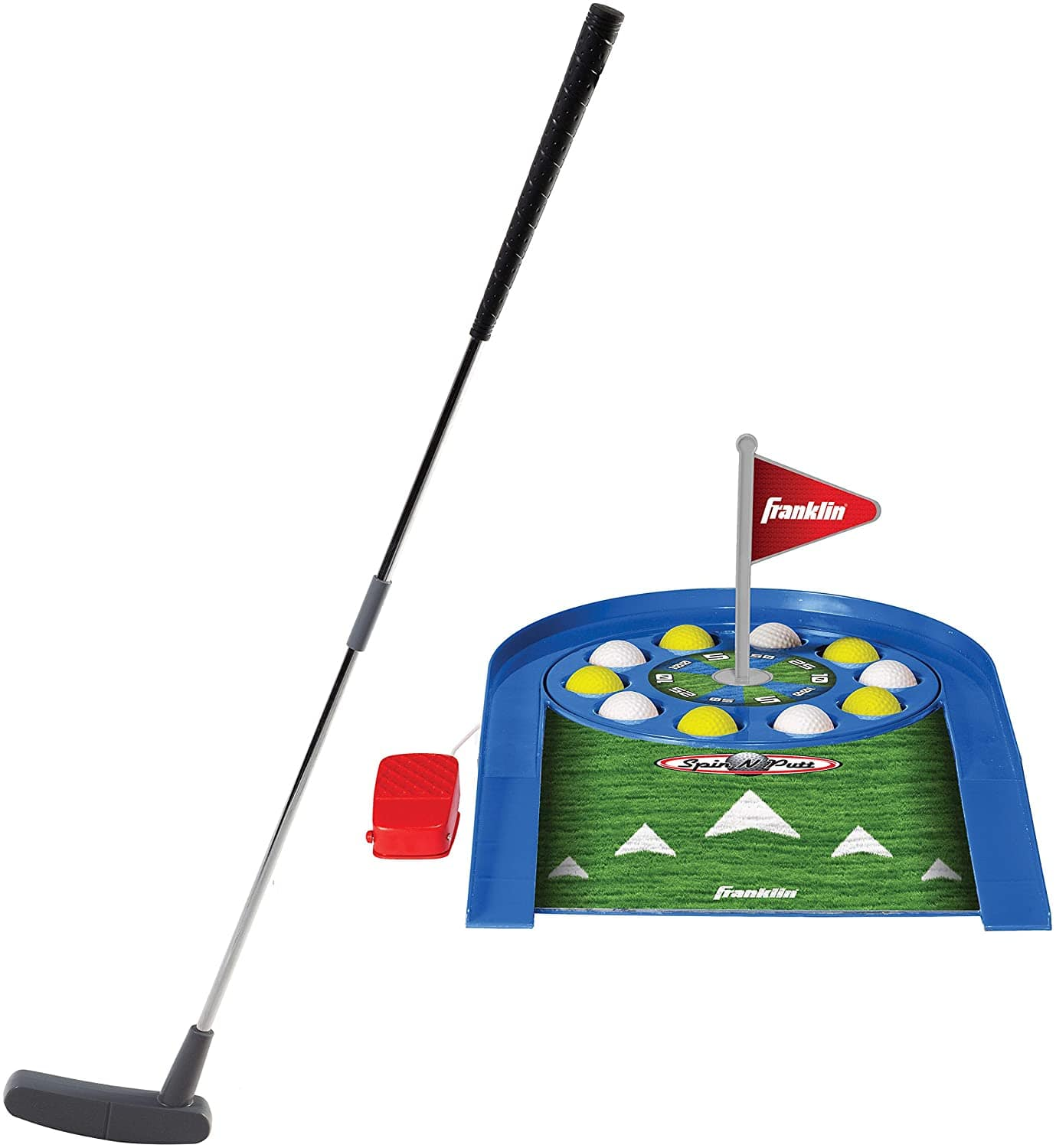 Franklin Sports Spin N Putt Golf Game $19 + Free Ship to Store at Macy's or Free Shipping w/ Prime or on $25+