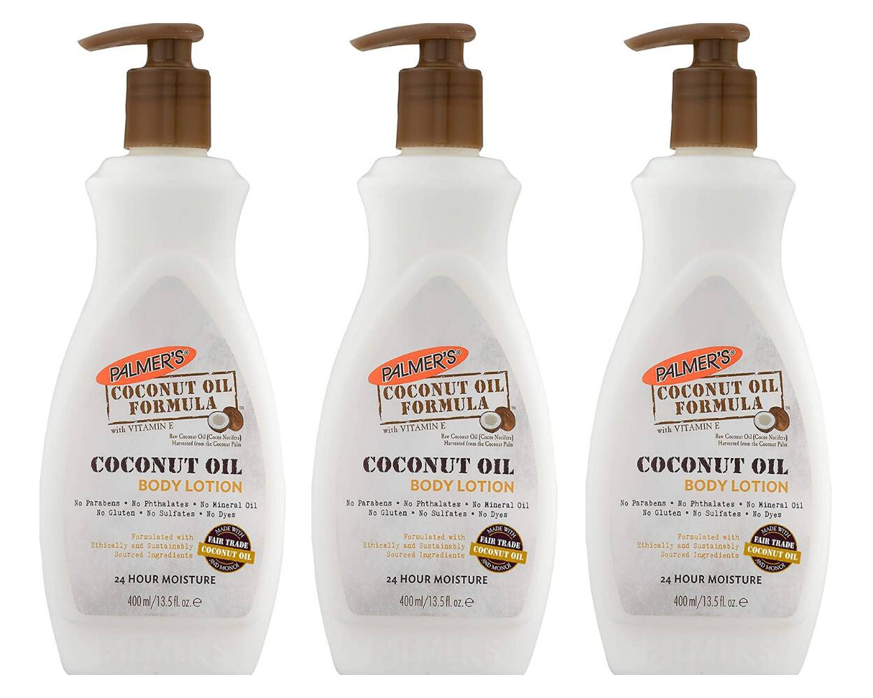 13.5-Oz Palmer's Coconut Oil Formula w/ Vitamin E Body Lotion 3 for $8.65 ($2.88 each) + Free Shipping w/ Prime or on $25+