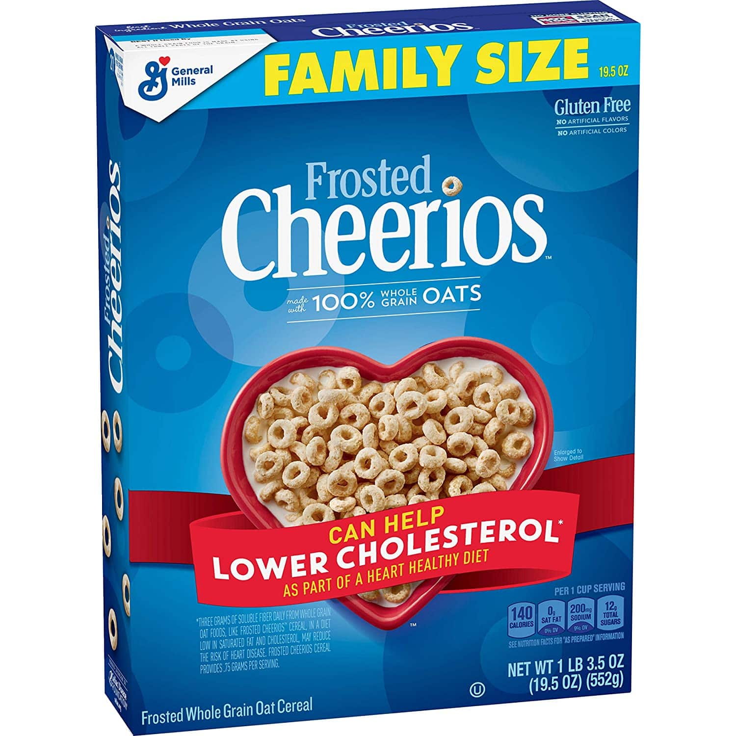 19.5-Oz Frosted Cheerios Cereal $2.85 w/ S&S + Free Shipping w/ Prime or on $25+