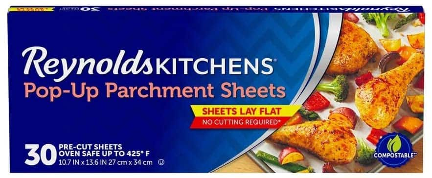 """30-Count Reynolds Kitchens Pop-Up Parchment Paper Sheets (10.7"""" x 13.6"""") $2.50 w/ S&S + Free Shipping w/ Prime or on $25+"""