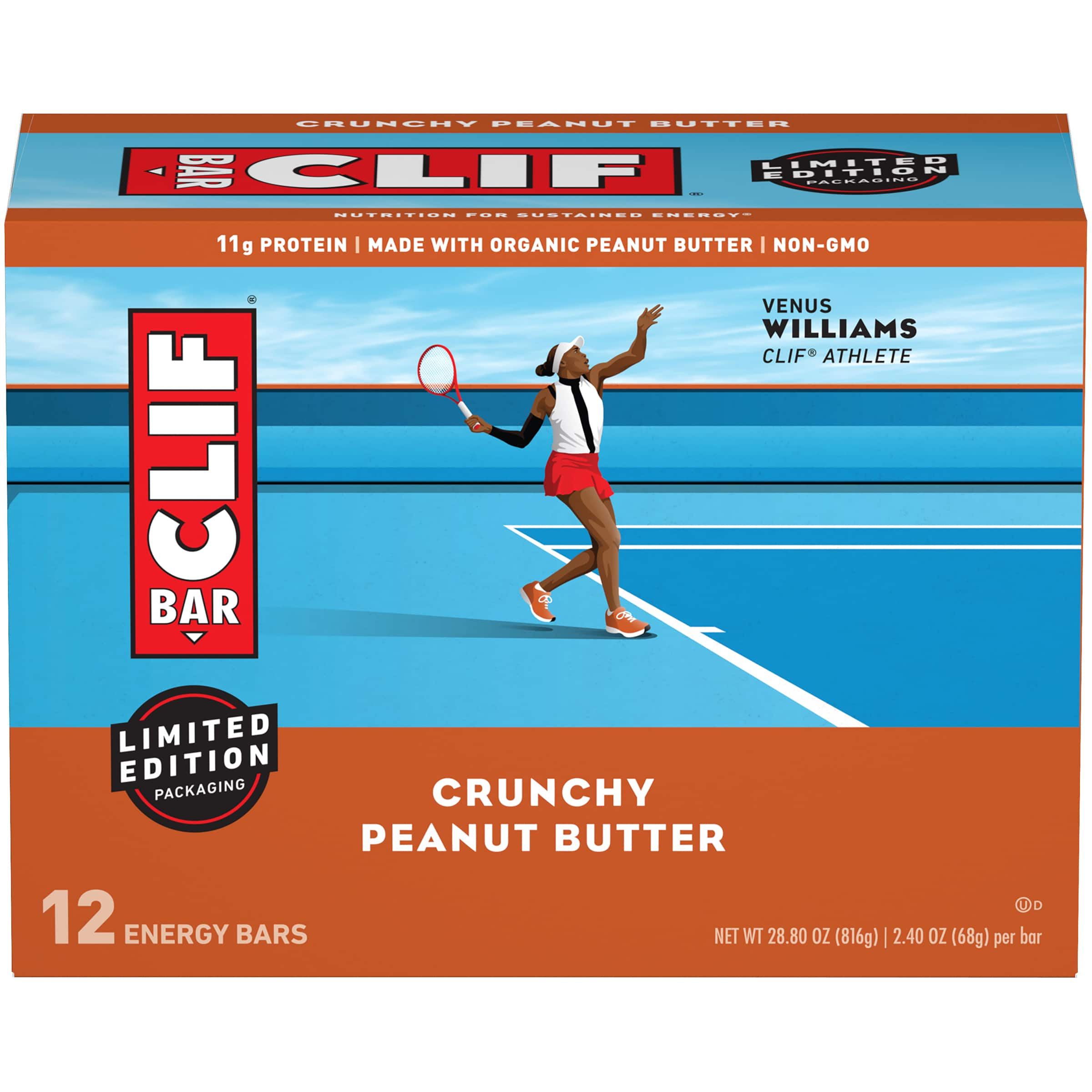 12-Count 2.40-Oz CLIF Bar Energy Bars (Crunchy Peanut Butter) $9 + Free Shipping w/ Prime or on $25+