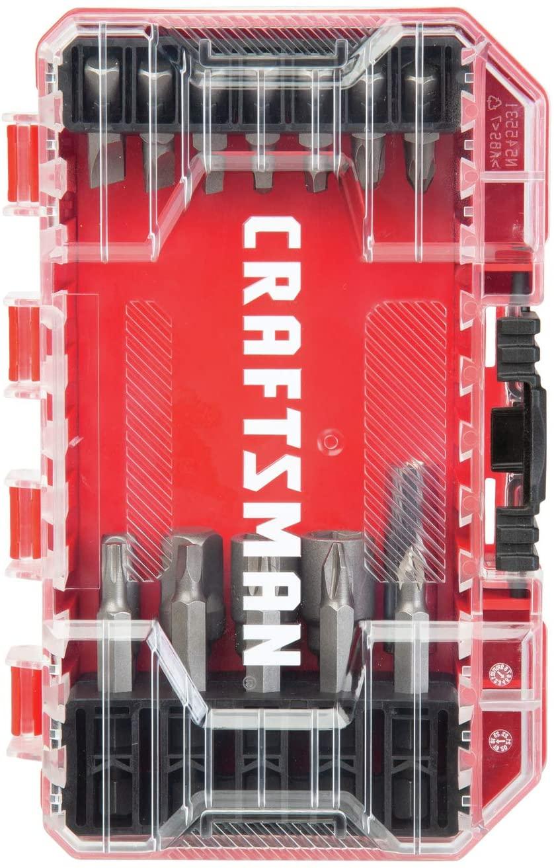 24-Piece CRAFTSMAN Screwdriver Bit Set $3