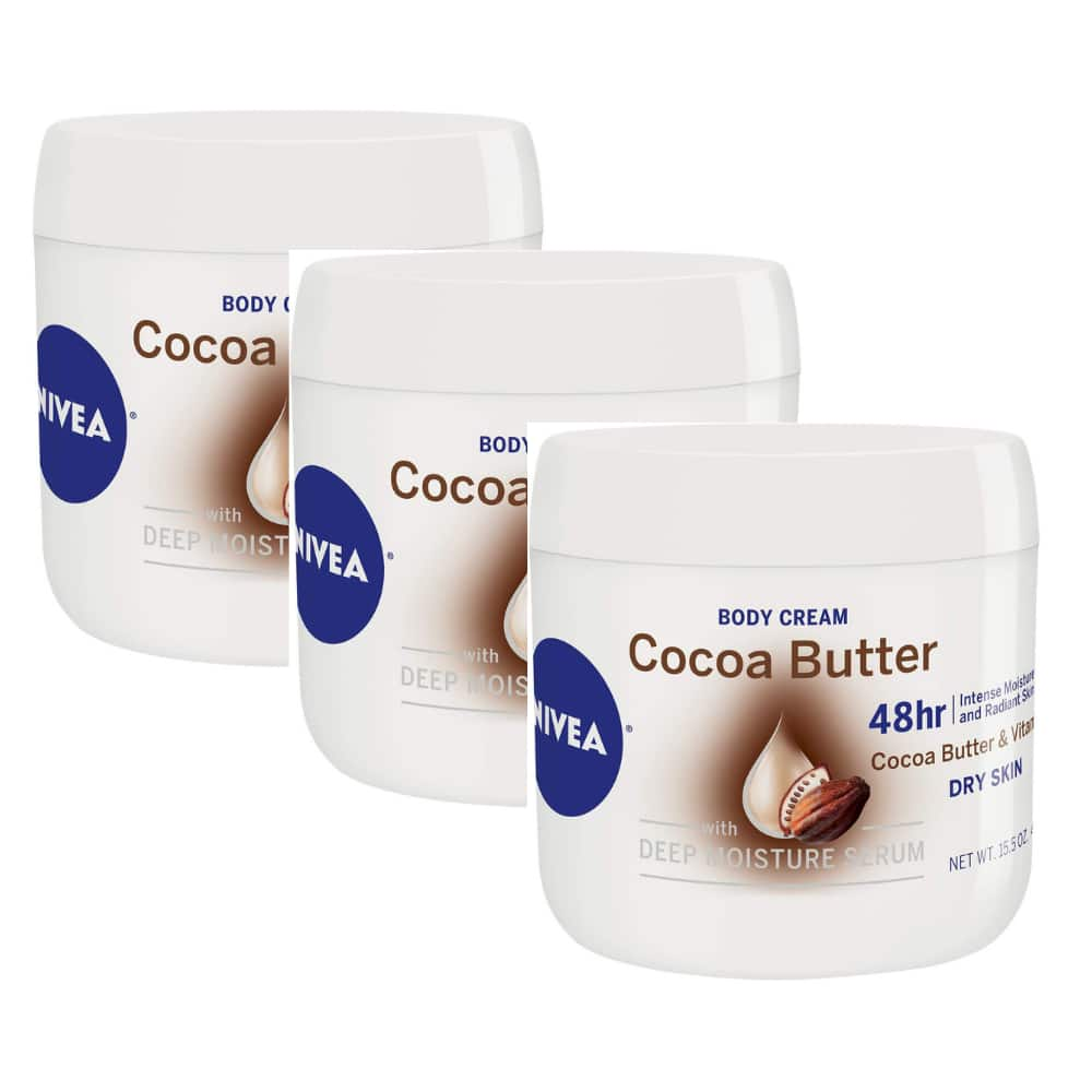 15.5-Oz Nivea Cocoa Butter Body Cream 3 for $10.60 ($3.54 each) w/ S&S + Free Shipping w/ Prime or on $25+