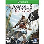 Xbox One Downloads - Assassin's Creed Unity - $10.99, Black Flag - $5.75, more