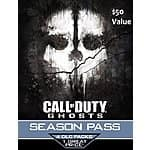 Call of Duty Ghosts Season Pass Download (PS4/PS3) - $4.75 with email delivery