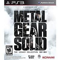 Game Deal Daily Deal: Metal Gear Solid: The Legacy Collection (PS3) - $25.75, Metal Gear Solid HD Collection - $17.75, Free Shipping