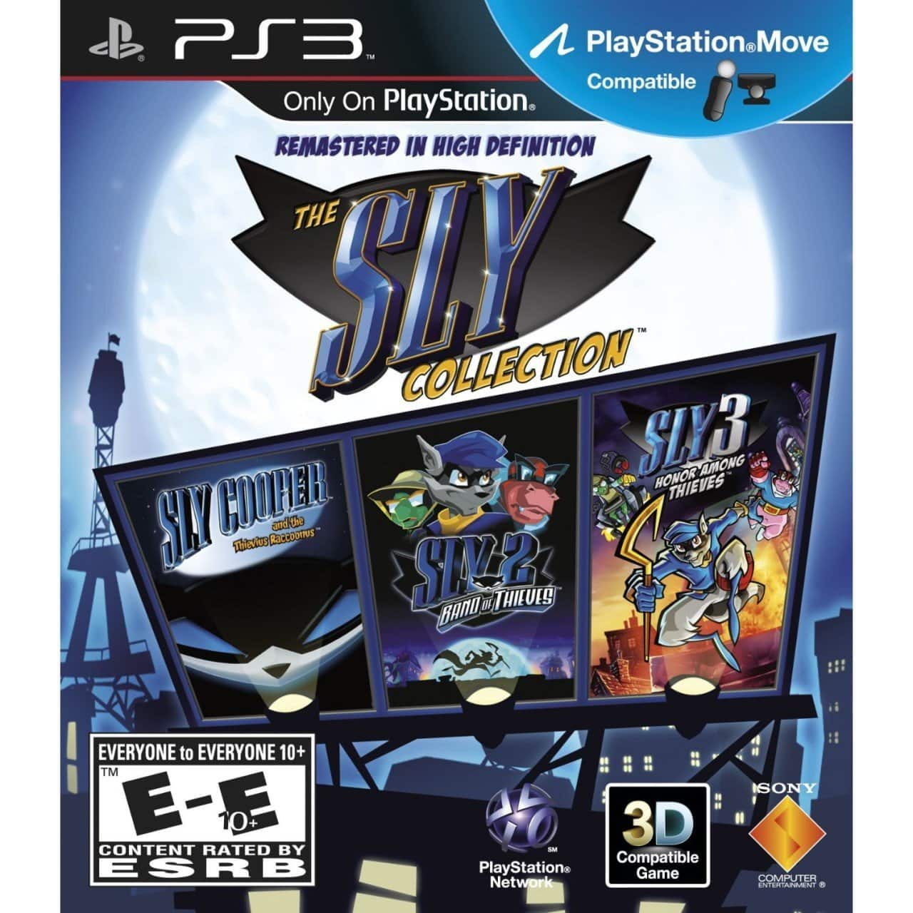 The Sly Cooper Collection (PS3 Download Code) - $2.75, 20% PSN Discount Code - $3.49, Email Delivery