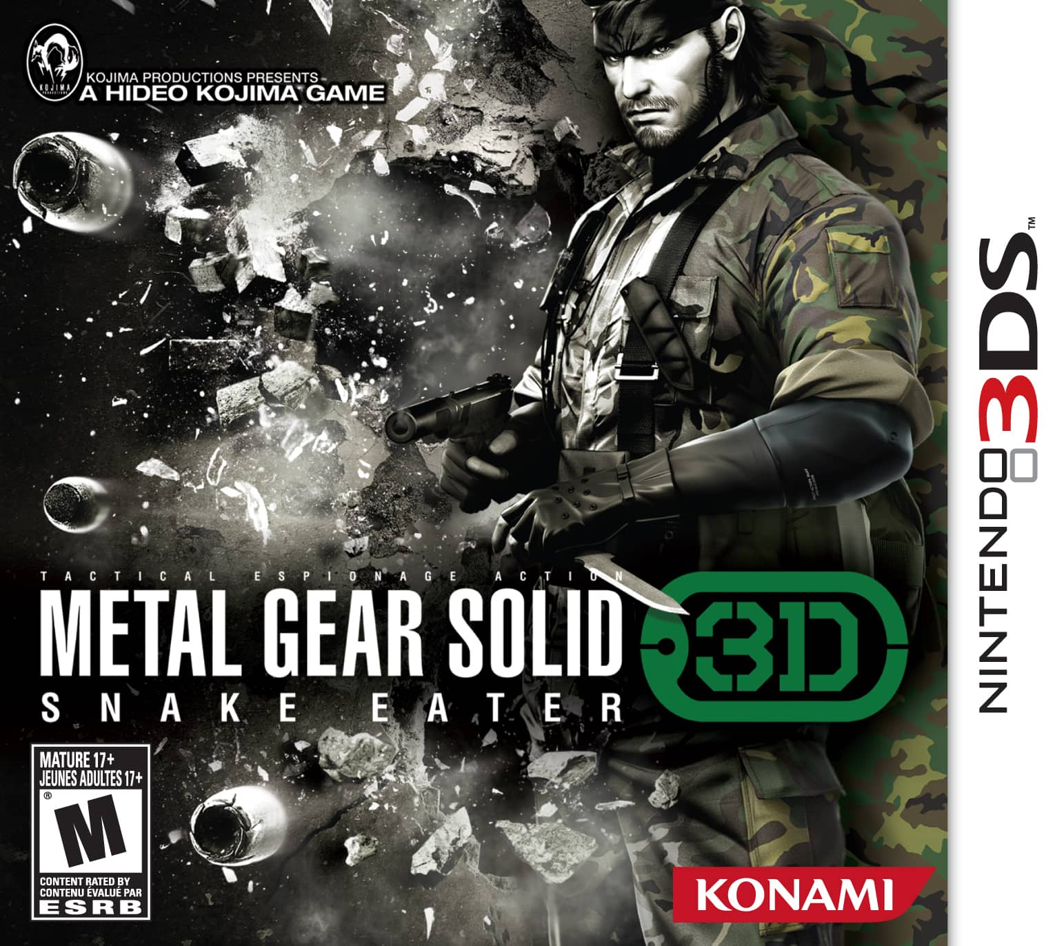 Metal Gear Solid: Snake Eater 3D for Nintendo 3DS $19.75 with Free Shipping