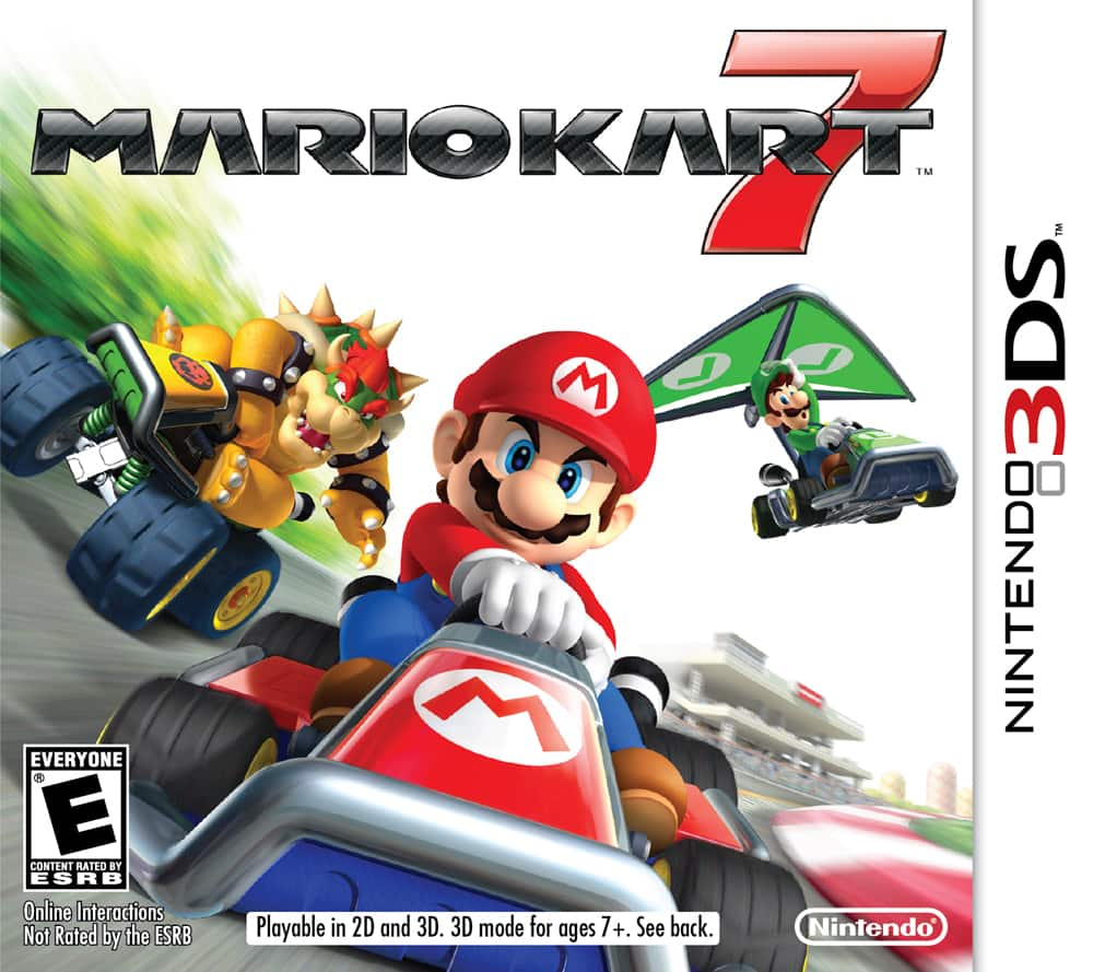 3DS Downloads - Mario Kart 7 & Yoshi's New Island - $17.49 each, Email Delivery