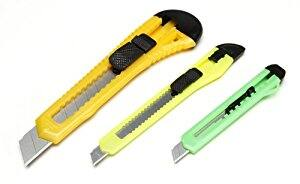 Amazon Prime - Darice Retractable Razor Knife Set, Assorted Color $1.08 Free S/H