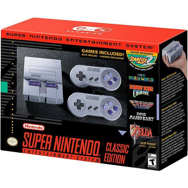 SNES Classic in Stock @ Walmart for $79.96
