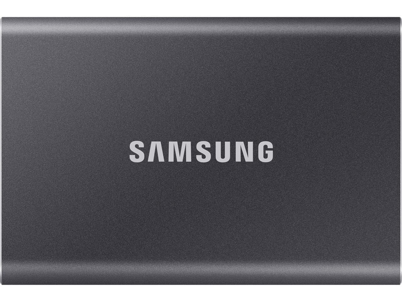 Samsung 500GB T7 USB 3.2 Portable Solid State Drive SSD (Blue or Grey) $70 + Free S/H $69.99 at Newegg and Samsung