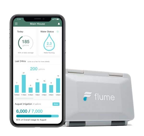 Flume 2 Smart Home Water Monitor $149 + Free Shipping