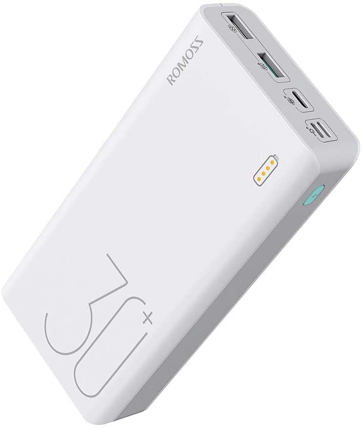 ROMOSS 30000mAh Power Bank Sense 8+, 18W PD USB C Portable Charger with 3 Outputs & 3 Inputs External Battery Pack $23.39+FS