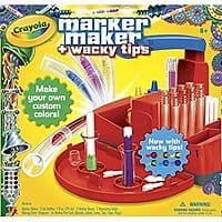 Amazon Deal: Crayola Marker Maker Wacky Tips For Only $5.87 On Amazon, Add On Item.