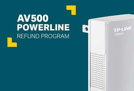 PSA: TP-LINK AV500 Powerline Adapters Full Refund Program