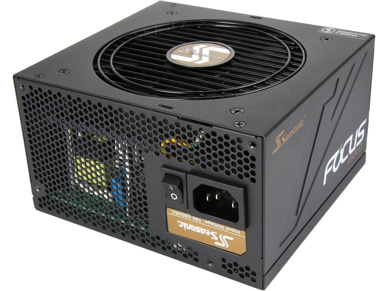 Seasonic FOCUS  SSR-450FM 450W 80+Gold Semi-Modular Power Supply $39.90 AR FS