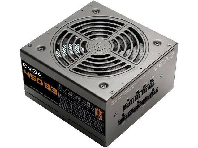 EVGA 450W Fully Modular (220-B3-0450-V1) Compact Power Supply $28 AR @ Newegg