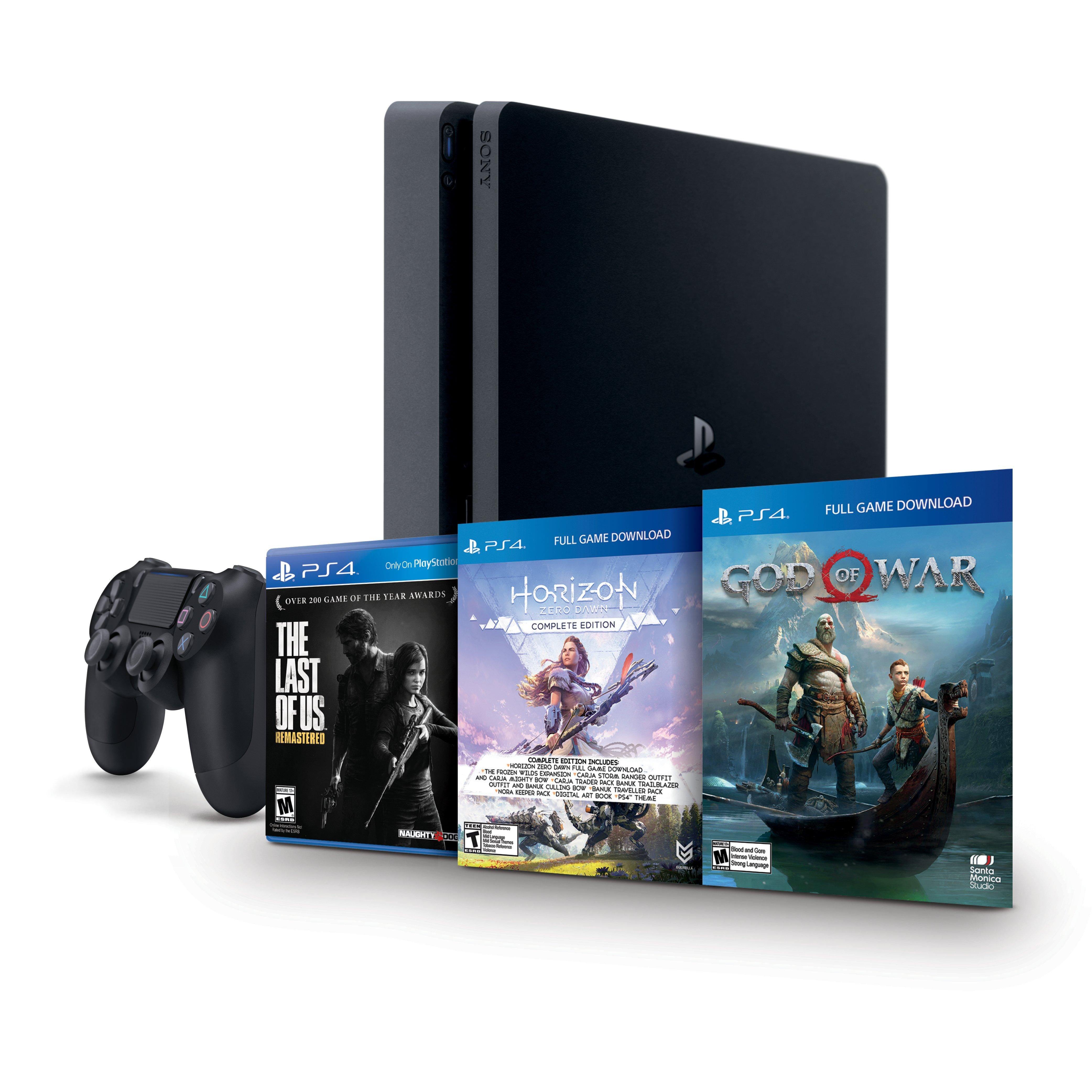 Back in stock PlayStation 4 Only on PlayStation Bundle $200