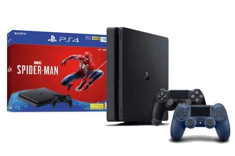 Sony Playstation 4 Slim 1TB Spiderman Bundle + Extra Controller $234.99